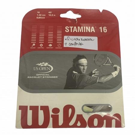 Set de Corda Individual Wilson Stamina