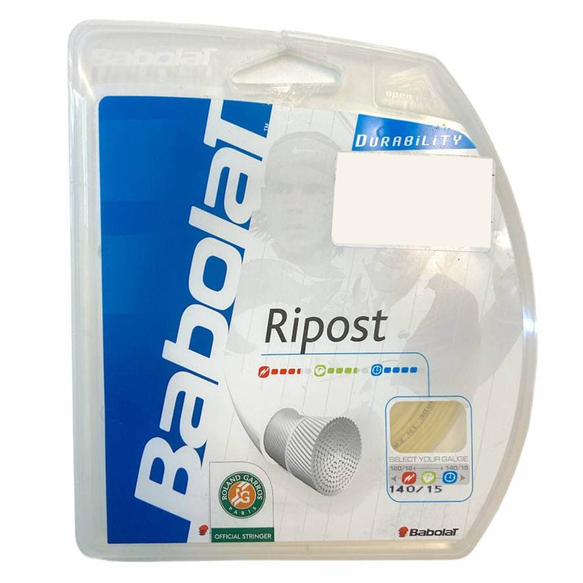 Corda Babolat Ripost C/12m Multifilamento - Set Individual