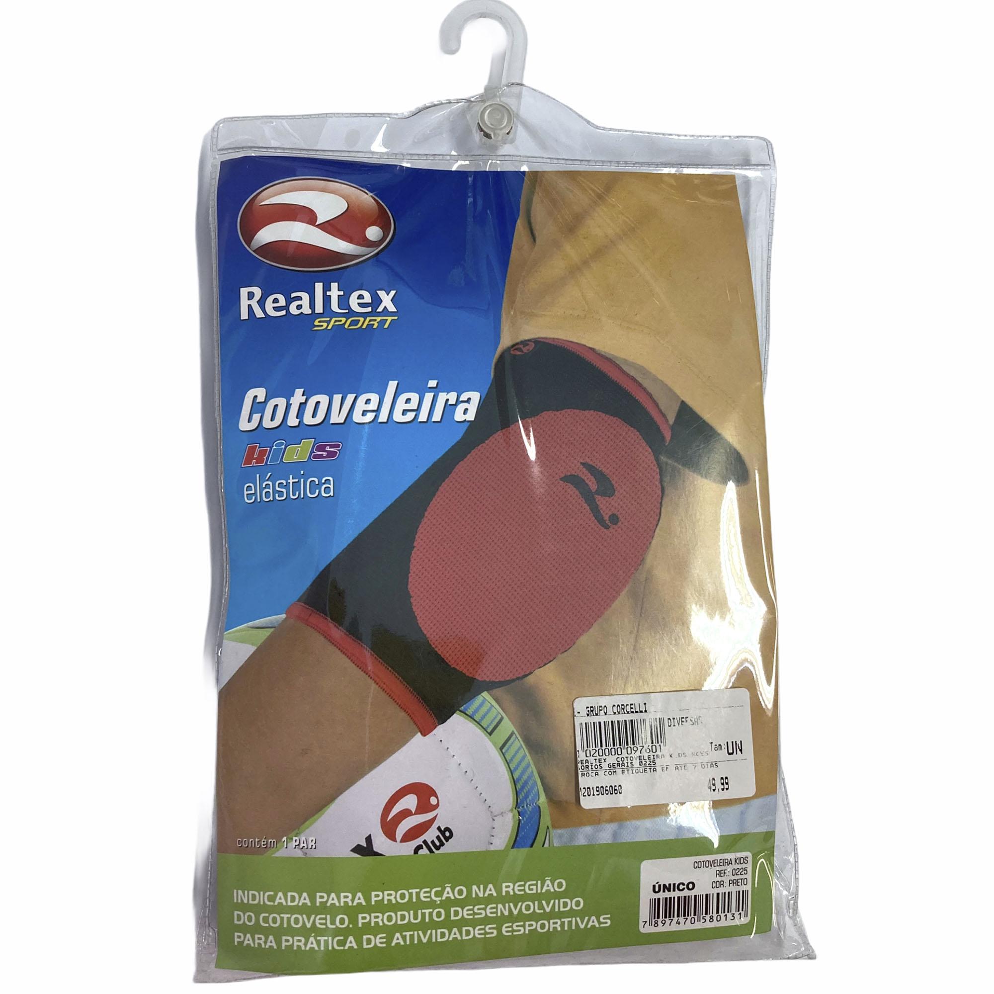 Cotoveleira Kids 0225 Realtex