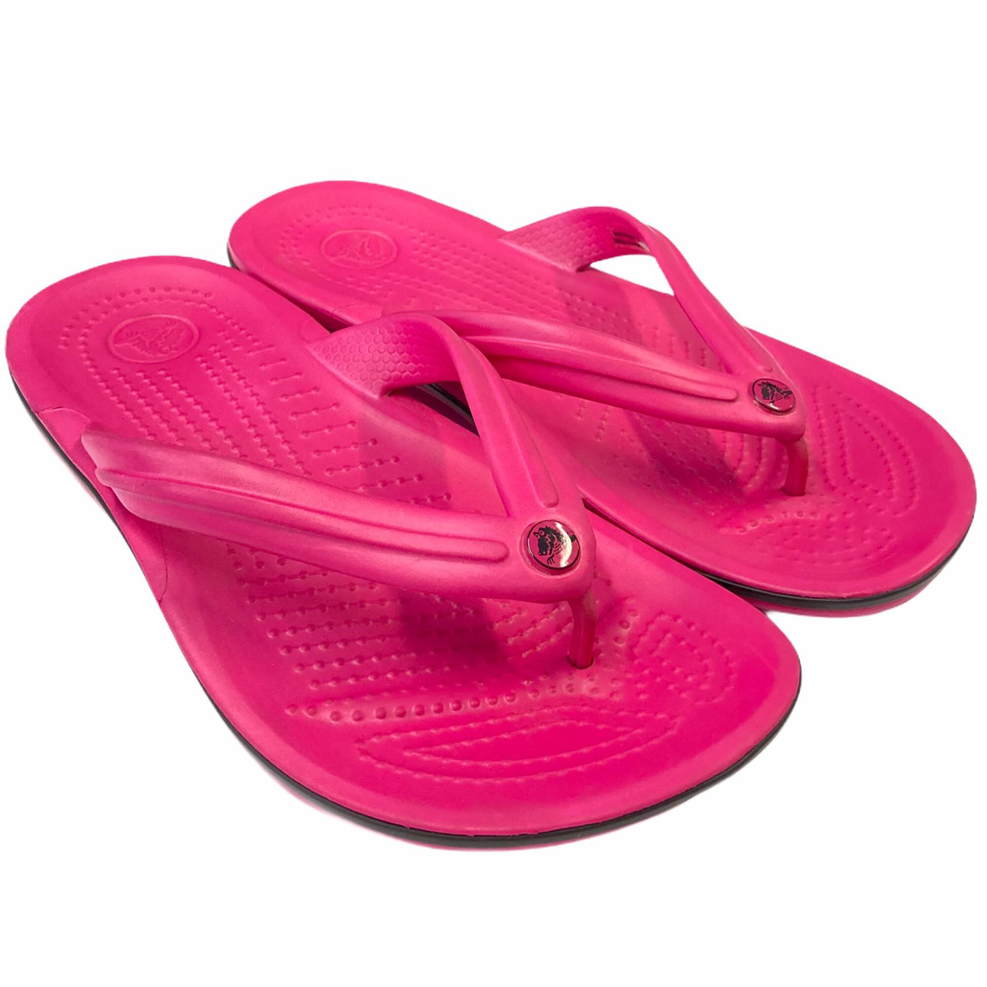Crocs Infantil Crocband Flip - Pink