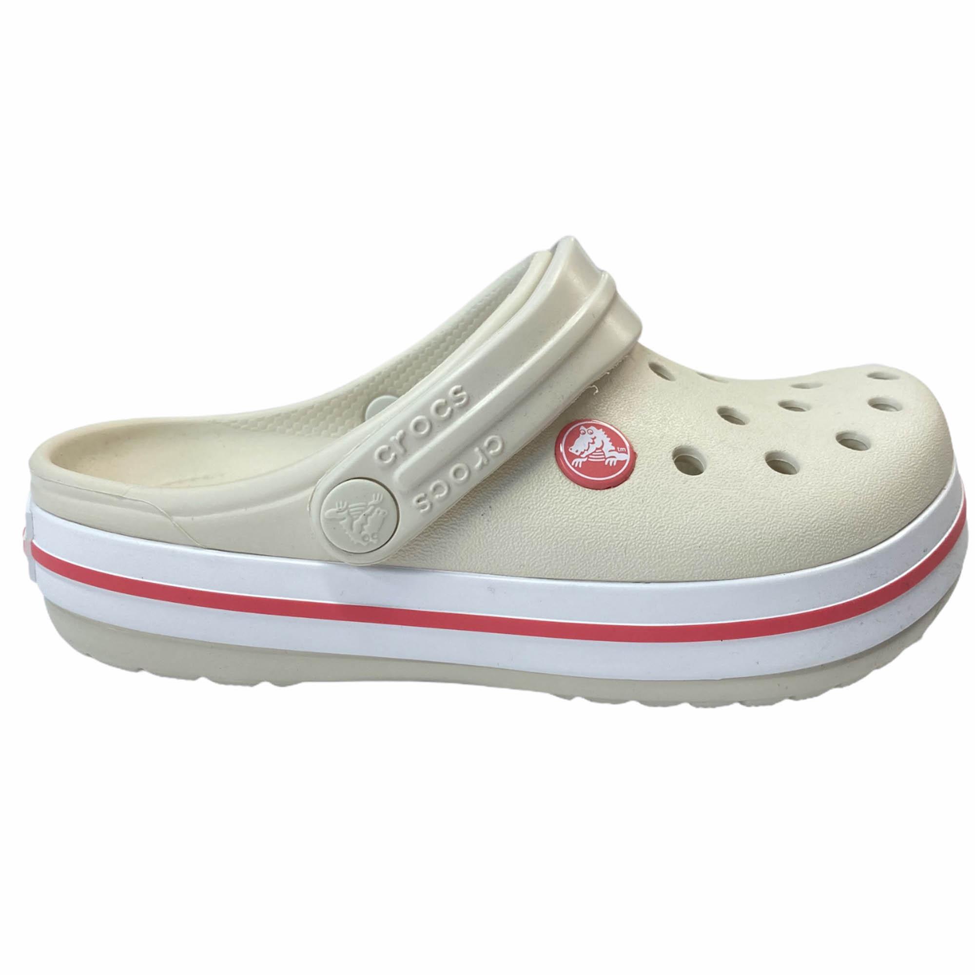 Crocs Sandalia Crocband K Stucco/ME
