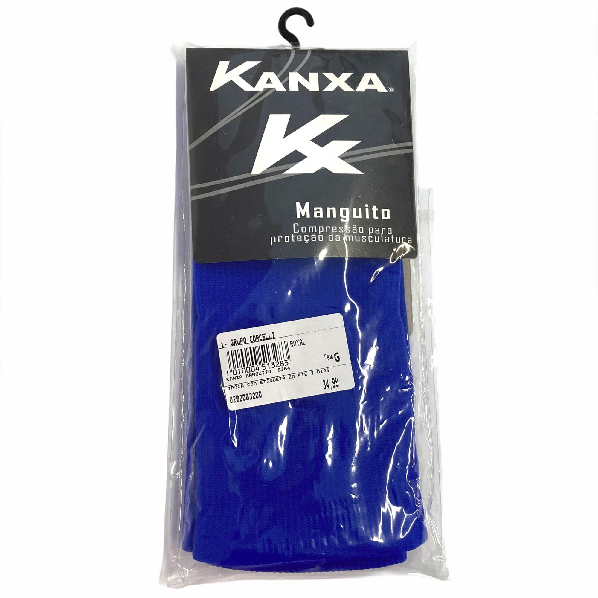 Manguito Mangote Kanxa Braço Proteção Esportes Unissex