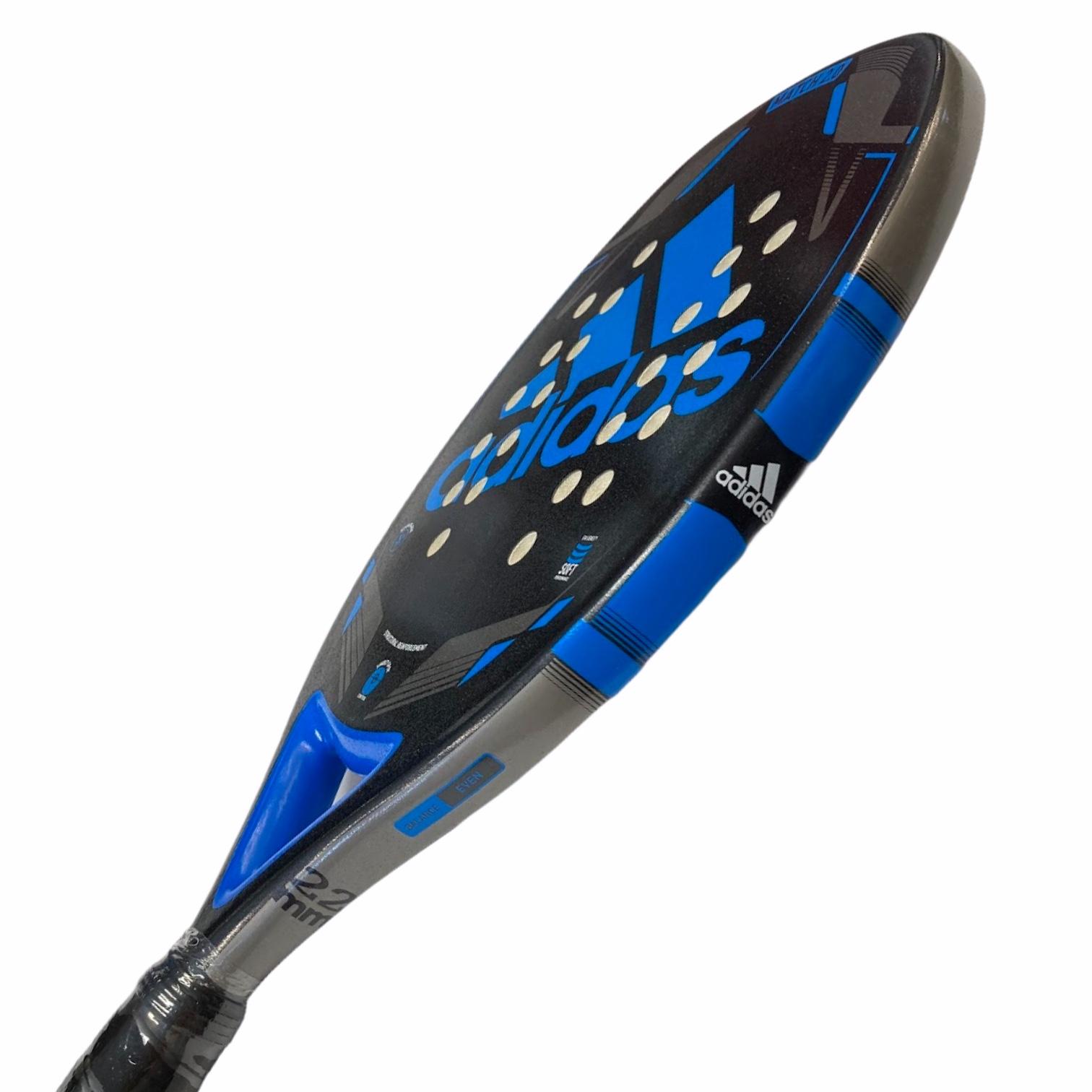 Raquete Beach Tennis Match BT 2.0 Azul - Adidas - Preto