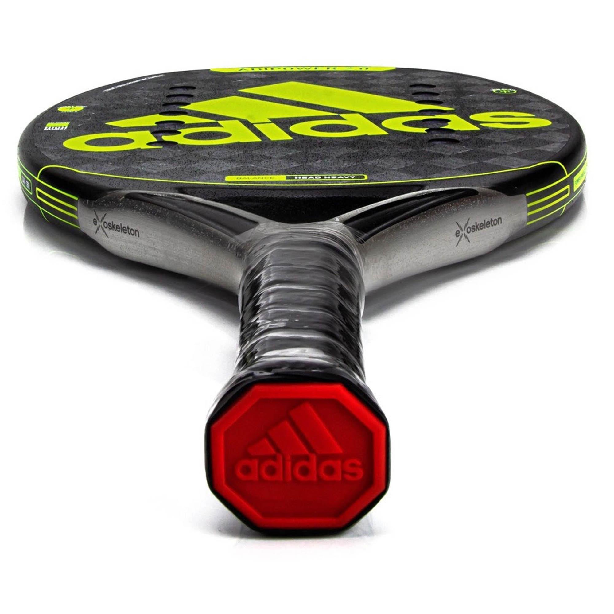 Raquete De Beach Tennis Adidas Adipower 2.0 Preto e Limão