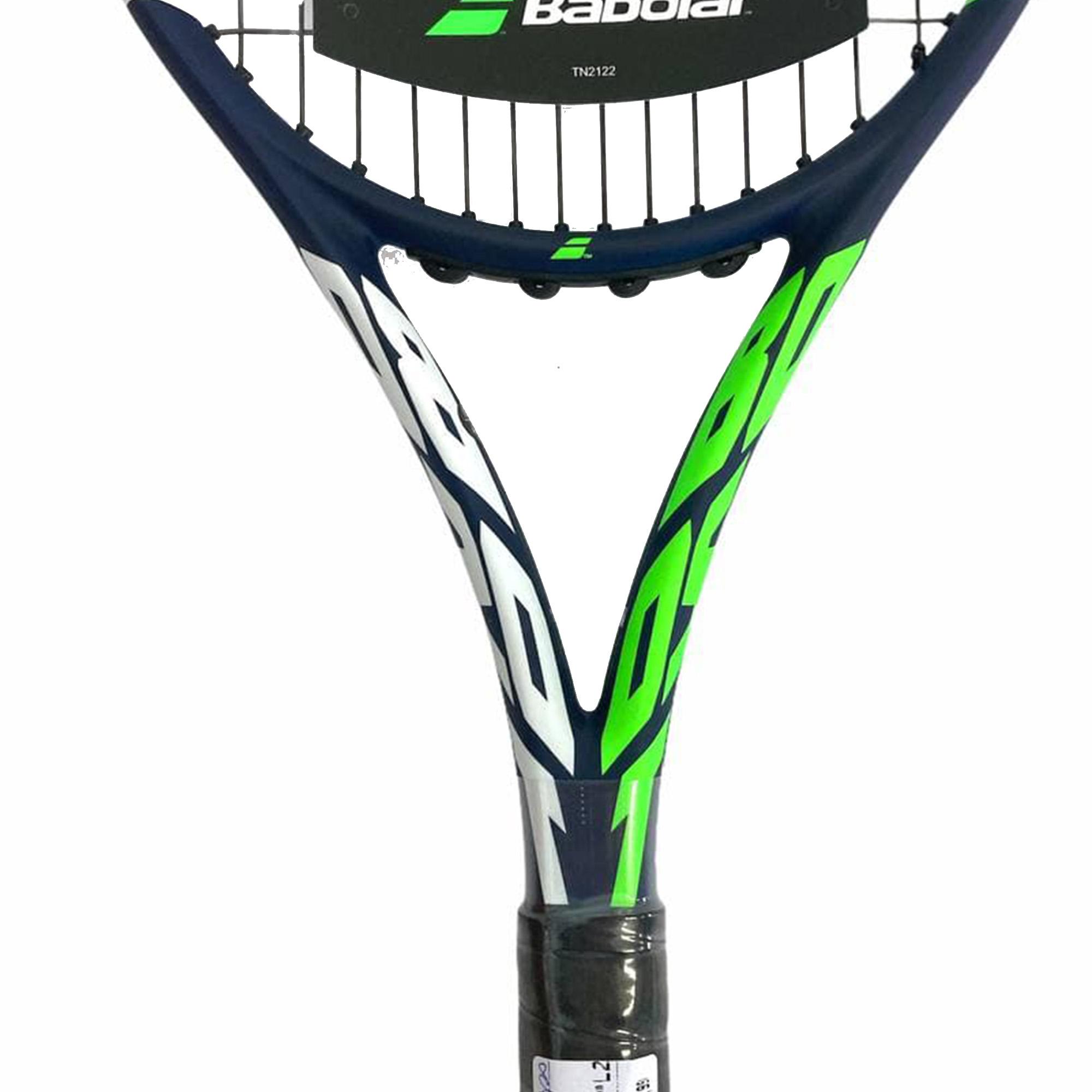 Raquete de Tênis Boost Drive 260g 16x19 Azul Verde e Branca - Babolat