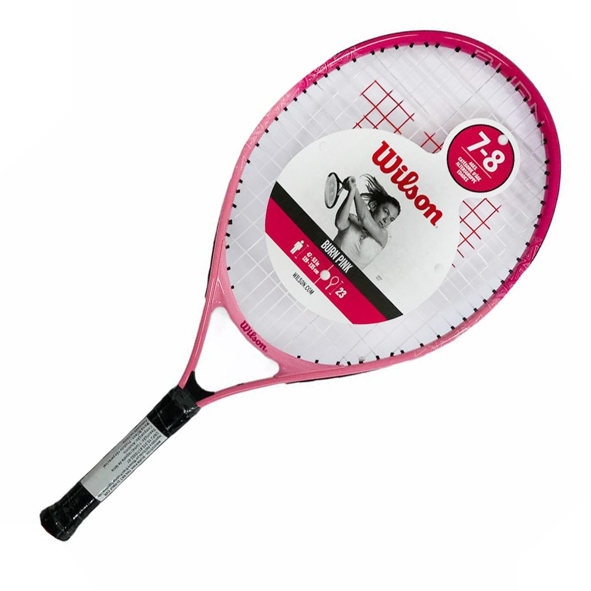 Raquete de Tênis Wilson Burn Pink 2 23 Junior