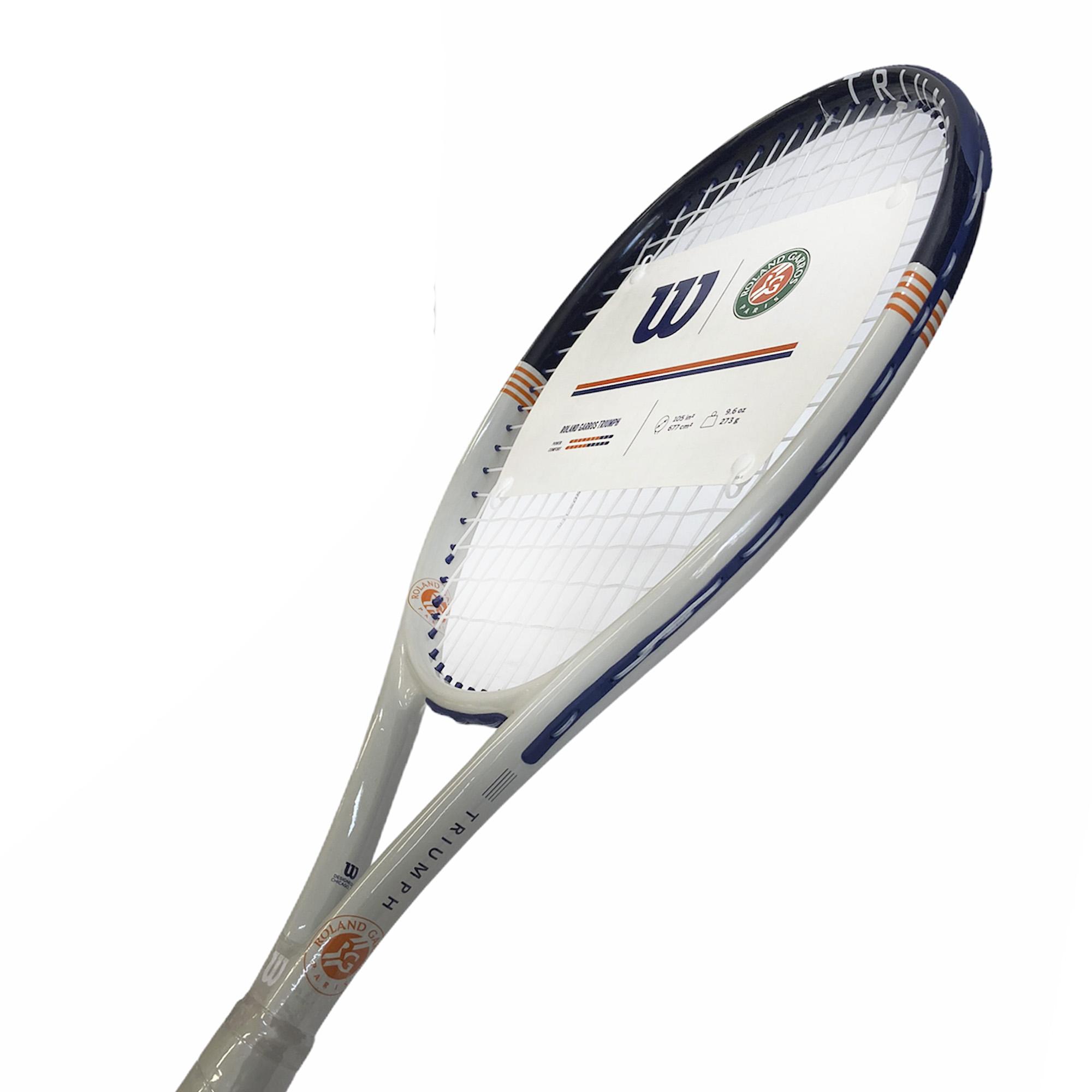 Raquete De Tênis Wilson Roland Garros Triumph - Lançamento