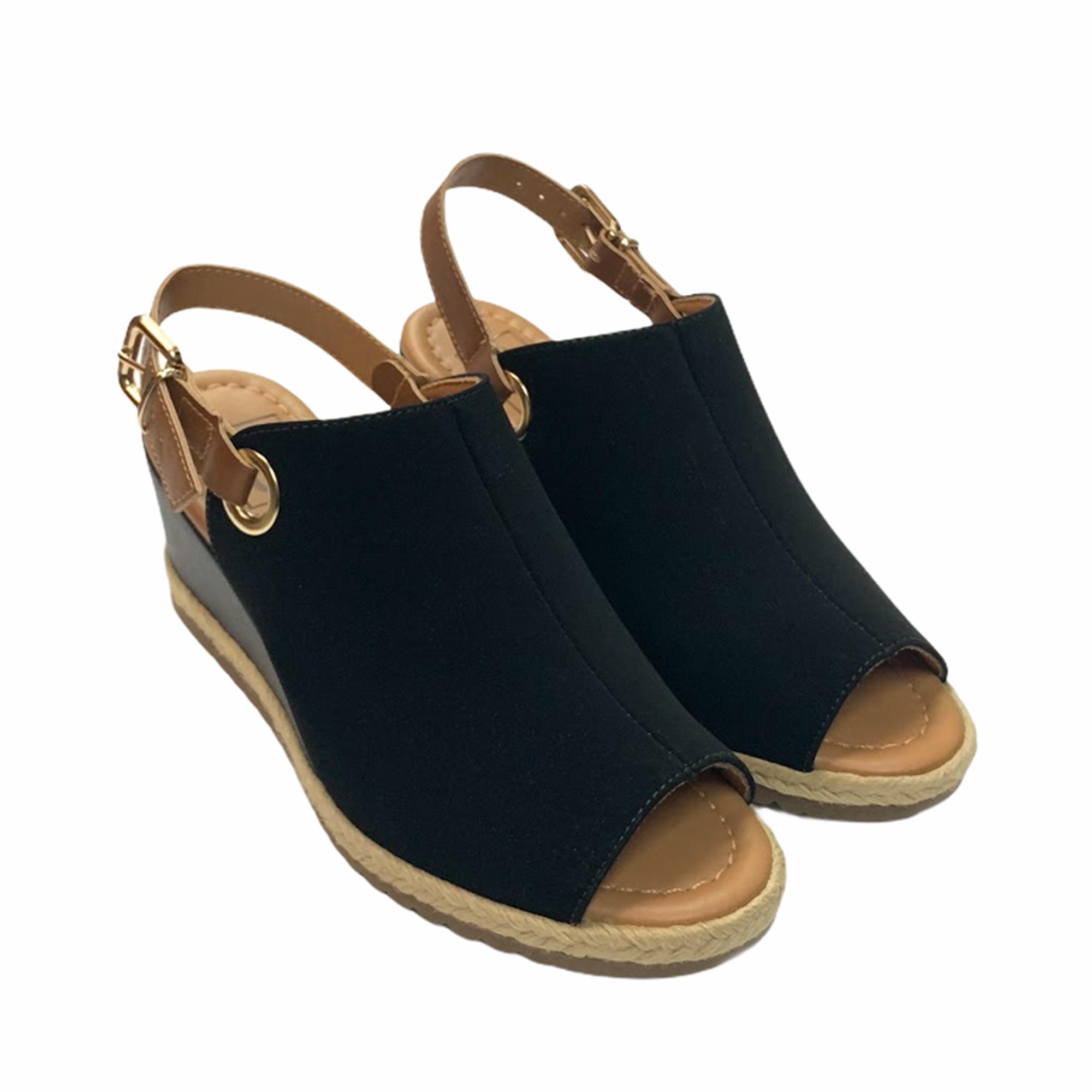 Sandália Anabela Open Boot Bebecê