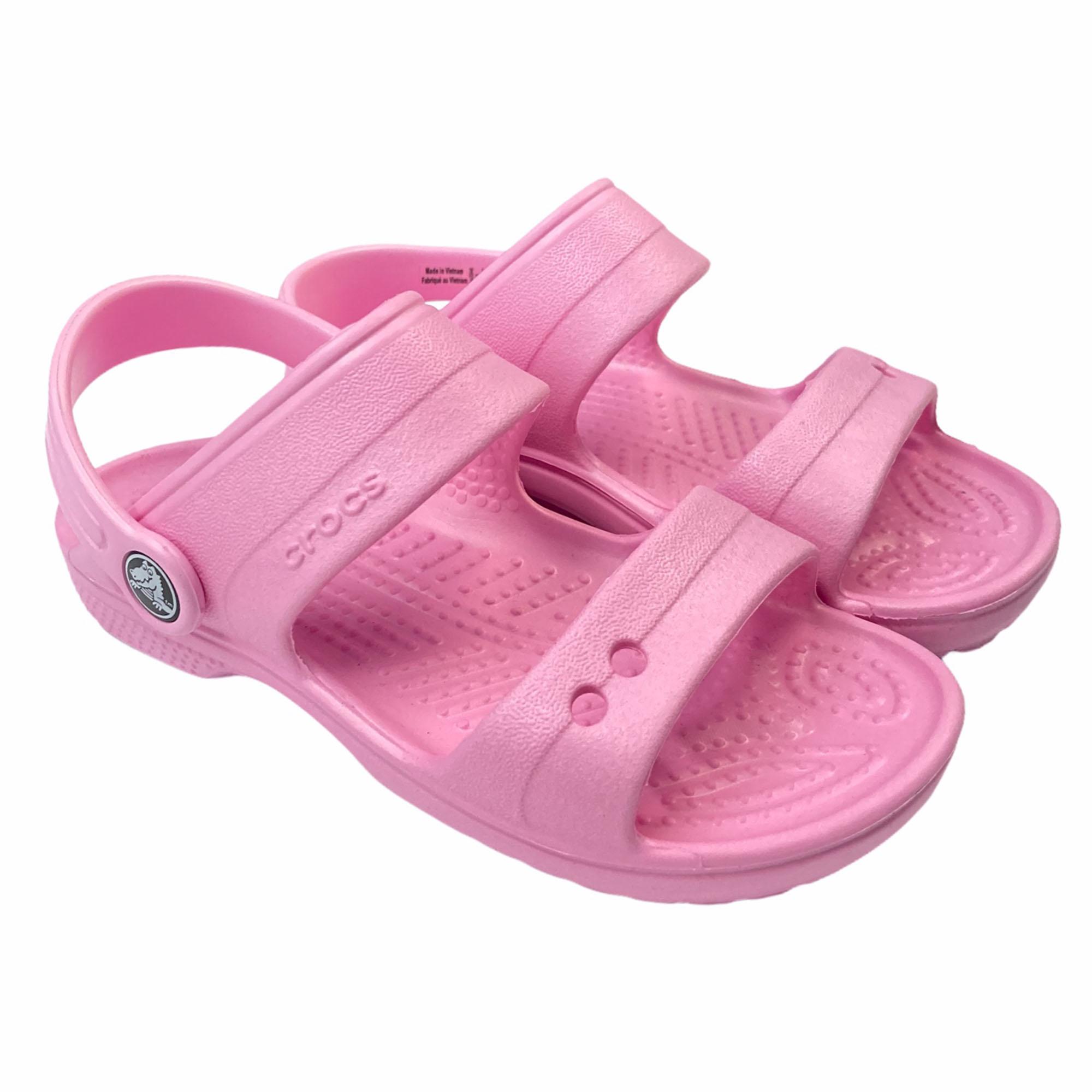 Sandália Clog Classic Crocs - Rosa Antigo