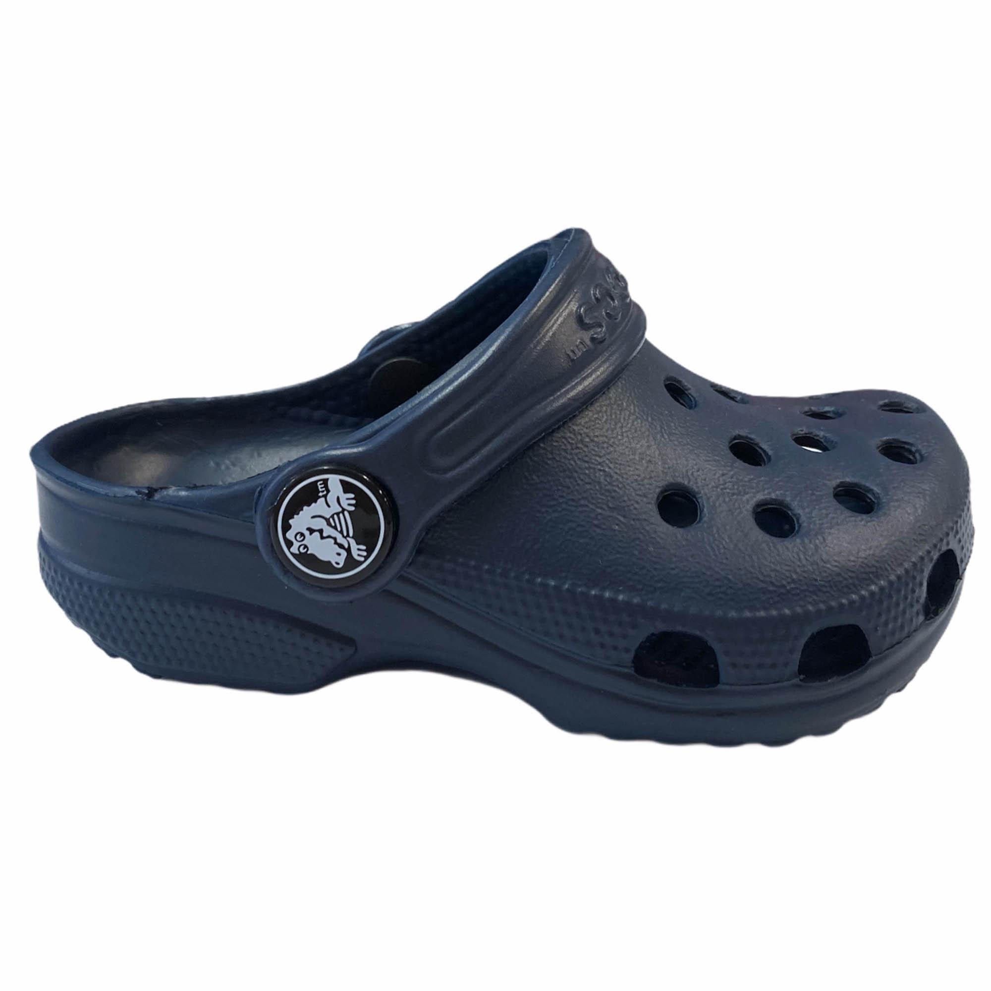 Sandália Crocs Classic Clog K Navy