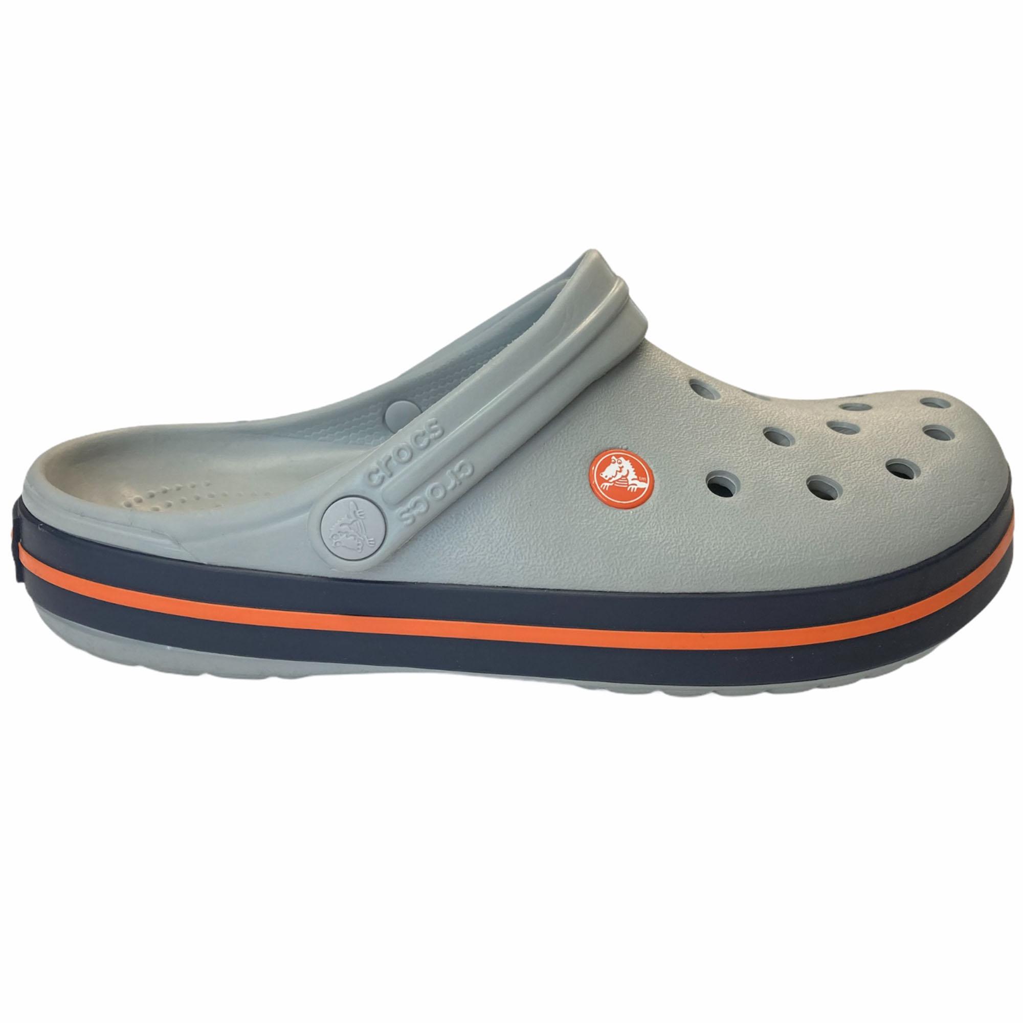 Sandália Crocs Crocband Adulto Light Grey - Cinza Claro