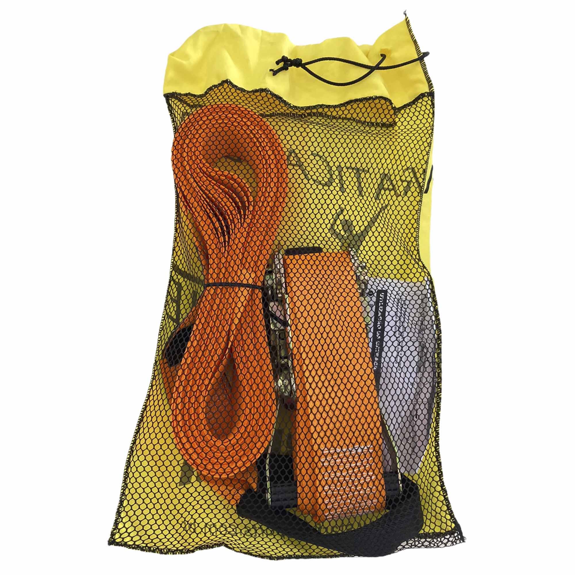 Slackline Kit Completo 10 Metros + Protetor E Bolsa