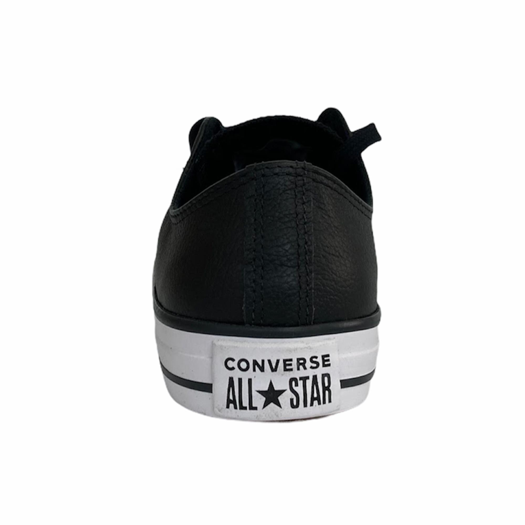 Tênis Couro Converse Chuck Taylor All Star OX Preto