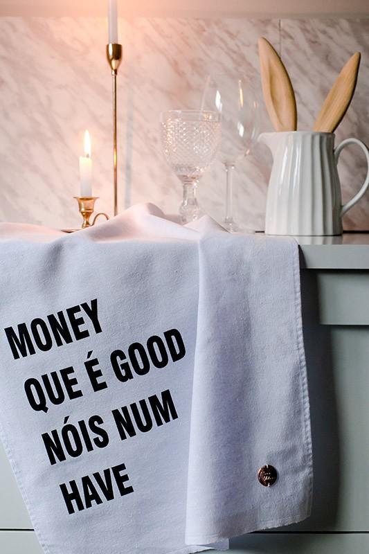 "Pano de Prato  ""MONEY""  - Pano Urbano"