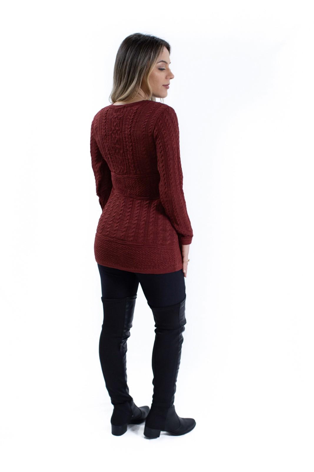 Vest Legging Trabalhada Jéssi Tricô