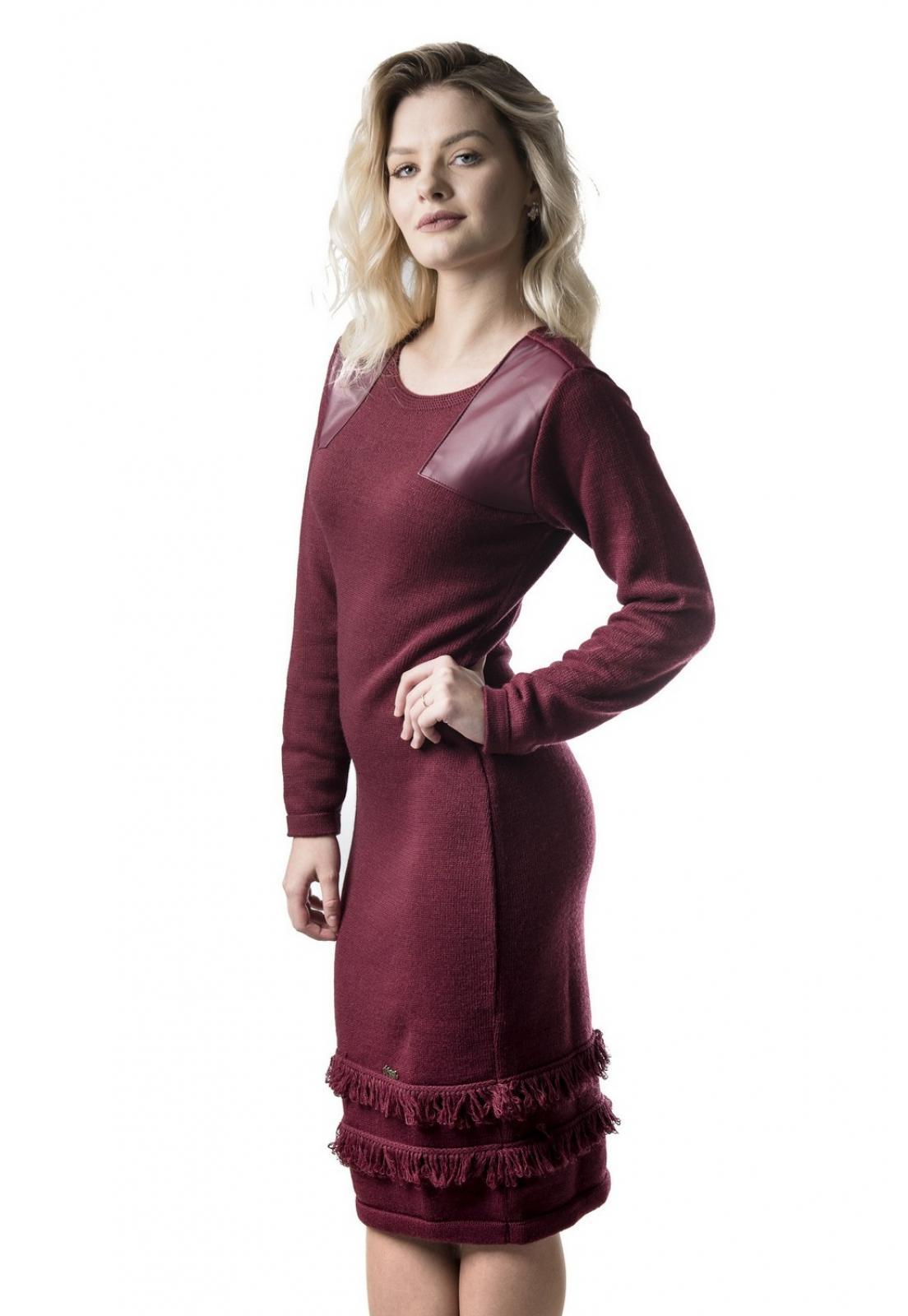 Vestido Midi Jéssi Tricô