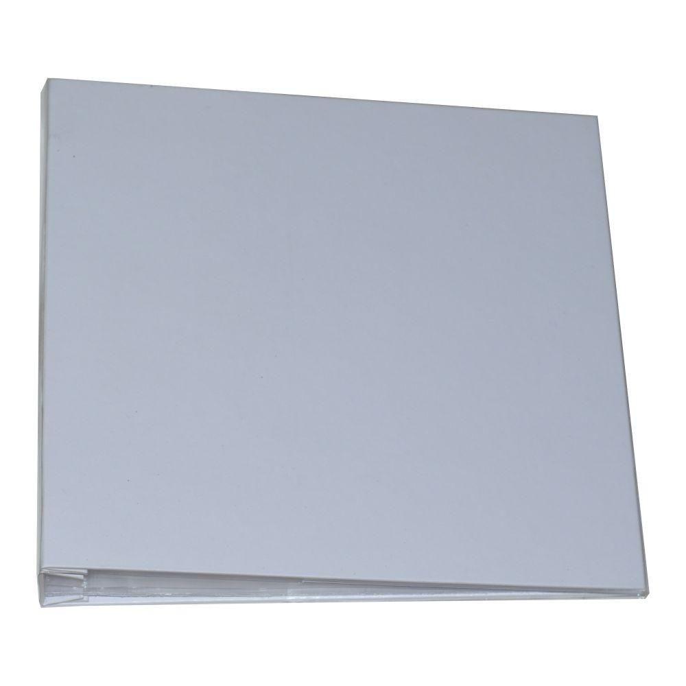 Álbum para Scrapbook c/ 10 Refis Tamanho G Branco - Oficina do Papel