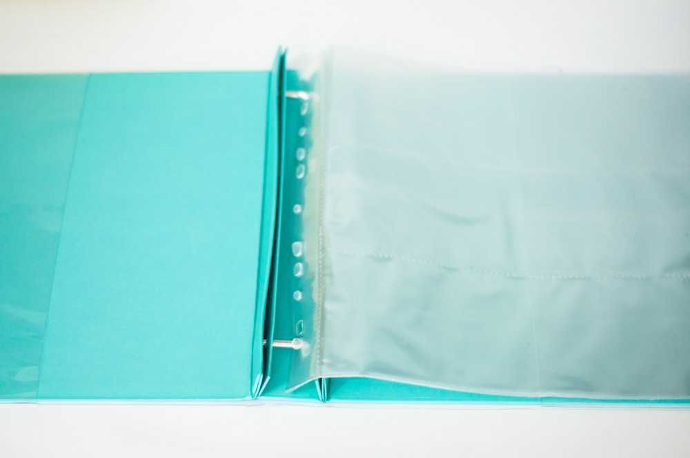Álbum para Scrapbook c/ 10 Refis Tamanho G Tiffany - Oficina do Papel