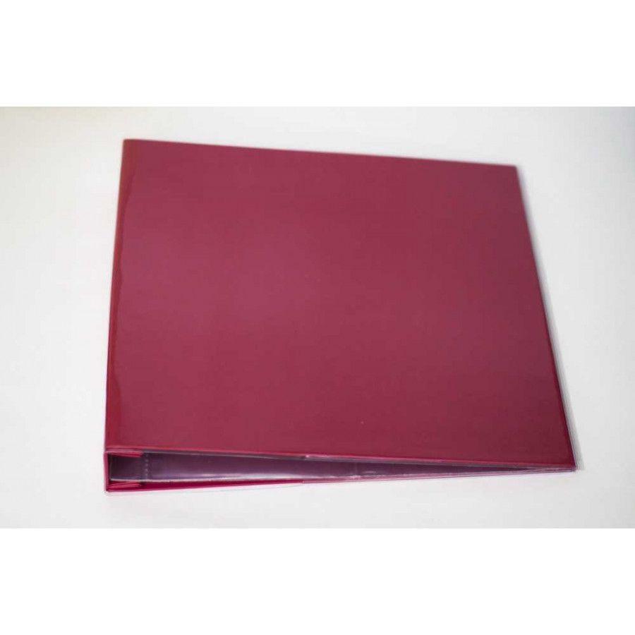 Álbum para Scrapbook c/ 10 Refis Tamanho G Vermelho - Oficina do Papel