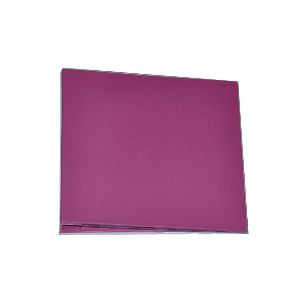 Álbum para Scrapbook c/ 10 Refis Tamanho M Rosa Pink - Oficina do Papel