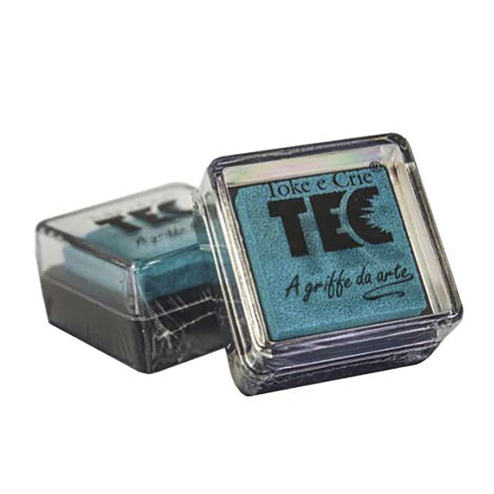 Almofada carimbeira Azul 11691 (ALC013) - Toke e Crie