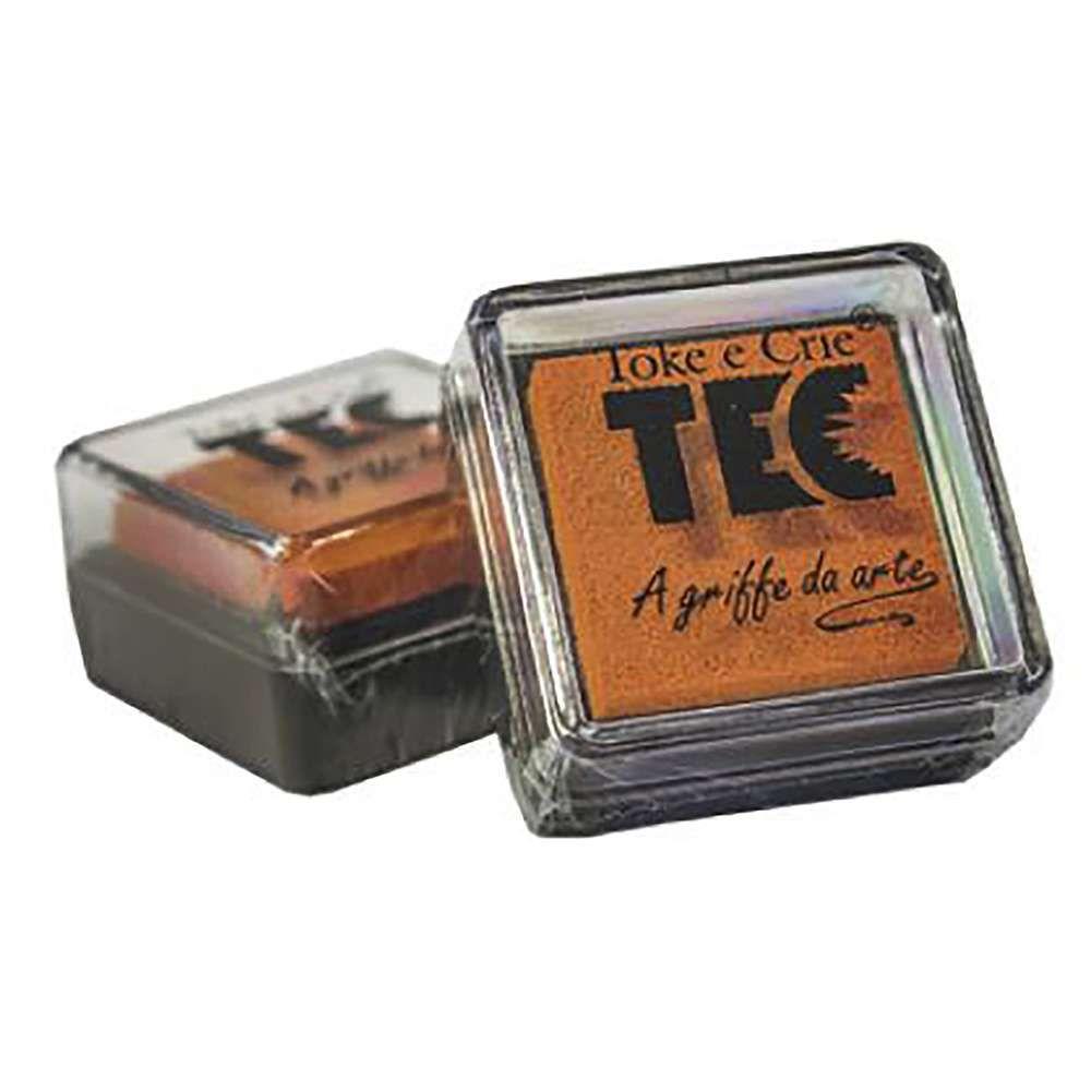 Almofada carimbeira Laranja 11692 (ALC014) - Toke e Crie