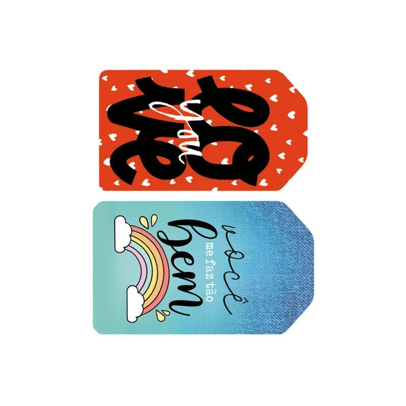 Aplique Scrapbook de Madeira Amor-APM4-445 - Litoarte