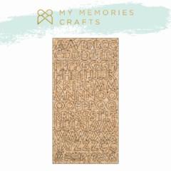 Aplique Scrapbook de Madeira MMCMLB - 14 MMCMLB - 14 - My Memories Crafts