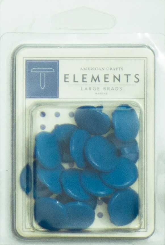 Bailarinas Scrapbook Grande Azul Marinho - American Crafts