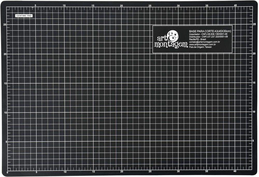 Base de Corte 60cm x 45cm A2 BC03 - Art e Montagem