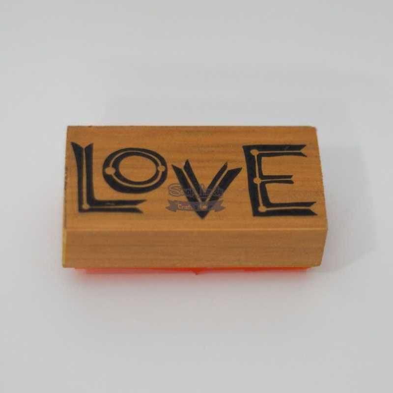 Carimbo de Silicone Love CA-668 - Arte Fácil