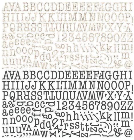 Cartela de Adesivos Paper Cottage  PAP-3783