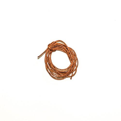 Cordão Encerado Poliéster Marrom 1m - Newz