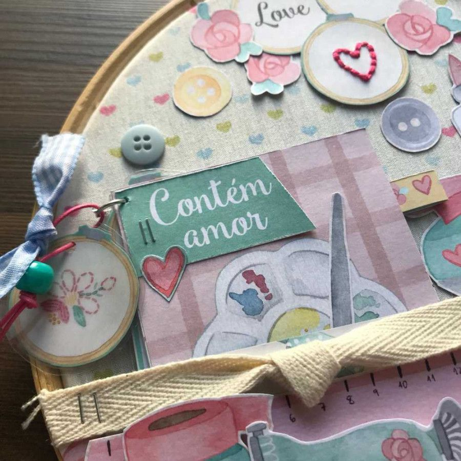 Curso Scrapbook no Bastidor My Crafts by Mari Ponciano