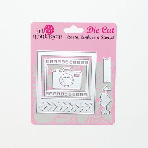 Faca de Corte Scrapbook Câmera Polaroid FAC007 - Art e Montagem