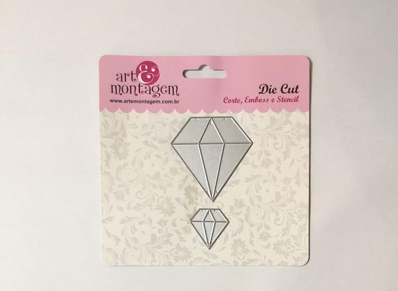 Faca de Corte Scrapbook Diamante FAC126 - Art e Montagem