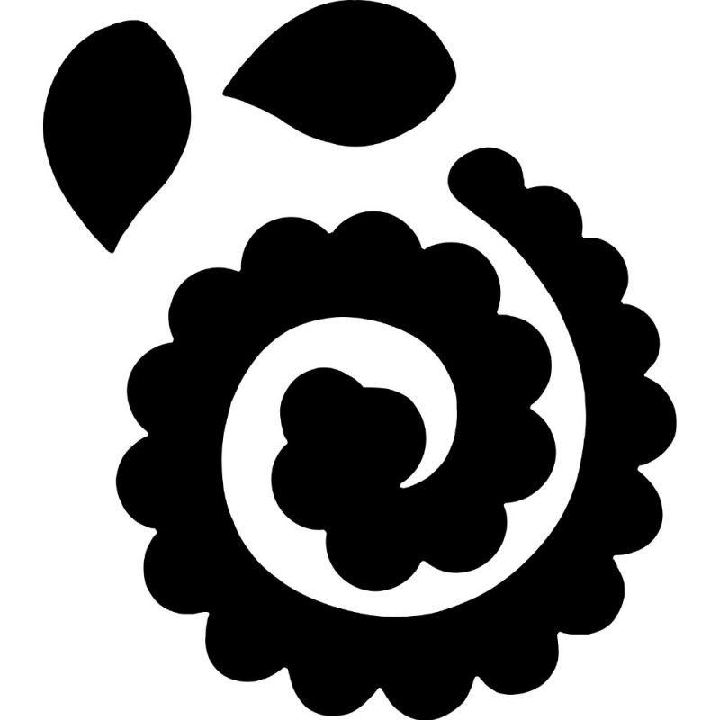 Faca de Corte Scrapbook Supreme Flor Espiral 21460 (FCS001) - Toke e Crie