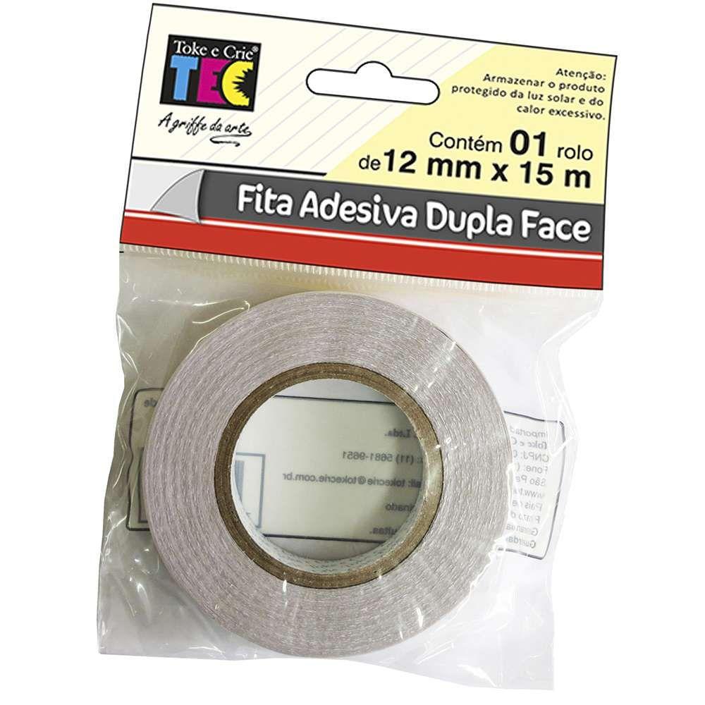 Fita Dupla Face 12mm x 15m 1862 (FAD02) - Toke e Crie