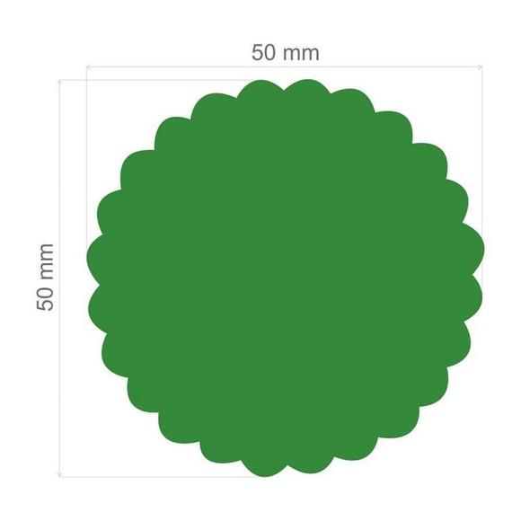 Furador Extra Gigante Círculo Escalope 9854 (FEGA017) - Toke e Crie