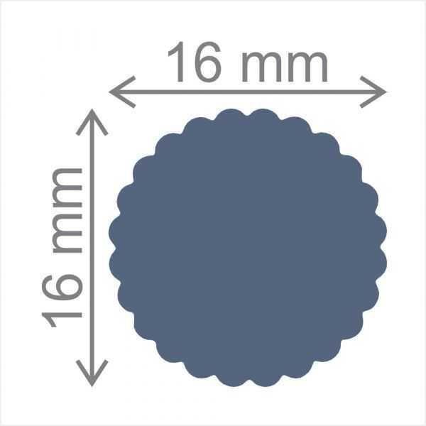 Furador Regular Círculo Escalope 15205 (FRA087) - Toke e Crie
