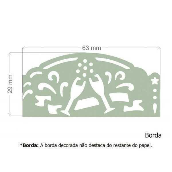 Furador Scrapbook Borda Max Taças 16831 (FBMA13) - Toke e Crie