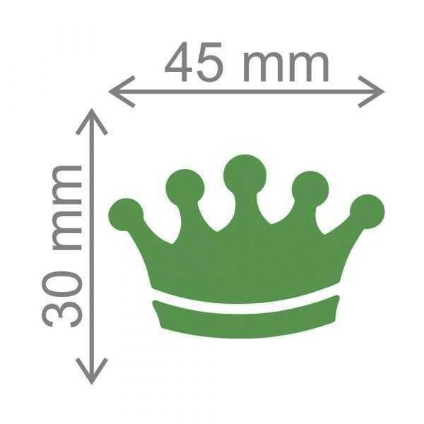 Furador Scrapbook Extra Gigante Coroa 2 13559 (FEGA031) - Toke e Crie