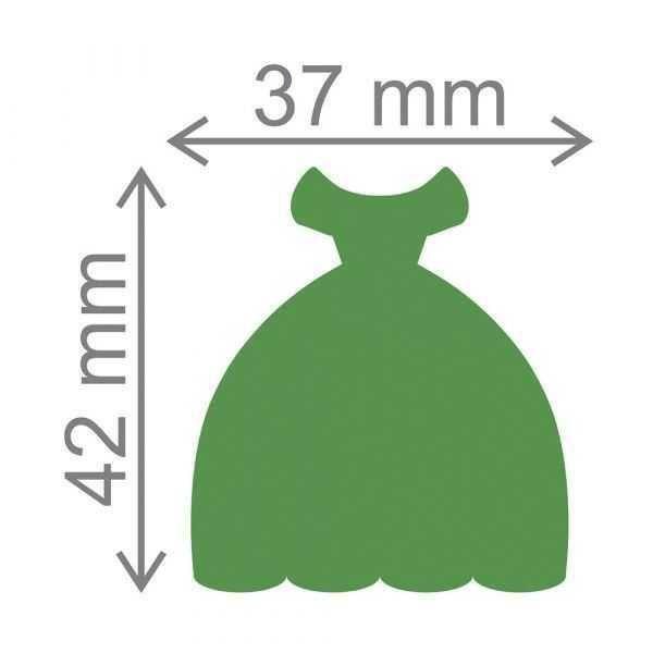 Furador Scrapbook Extra Gigante Vestido 20530 (FEGA046) - Toke e Crie