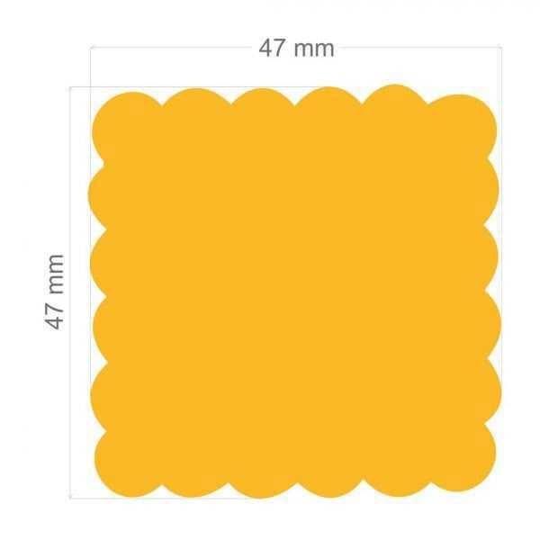Furador Scrapbook Gigante Plus Quadrado Escalope 9868 (FGPA101) - Toke e Crie
