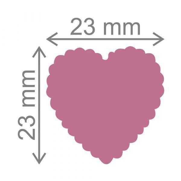 Furador Scrapbook Jumbo Coração Escalope 12264 (FJA062) - Toke e Crie