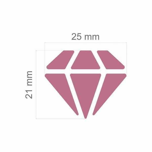 Furador Scrapbook Jumbo Diamante 20317 (FJA010) - Toke e Crie