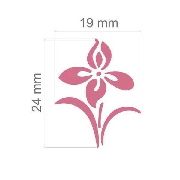Furador Scrapbook Jumbo Flor de Primavera 12279 (FJA077) - Toke e Crie