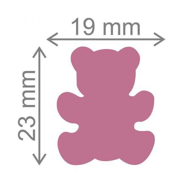 Furador Scrapbook Jumbo Urso 12266 (FJA064) - Toke e Crie