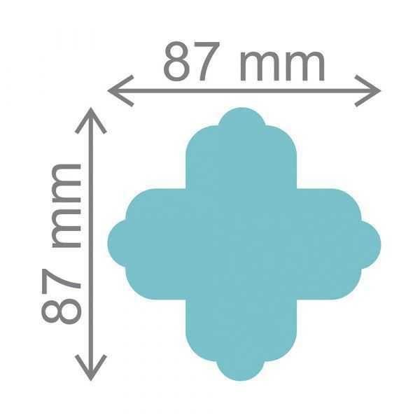 Furador Scrapbook Ultra Forminha para Doce 20527 (FUA009) - Toke e Crie
