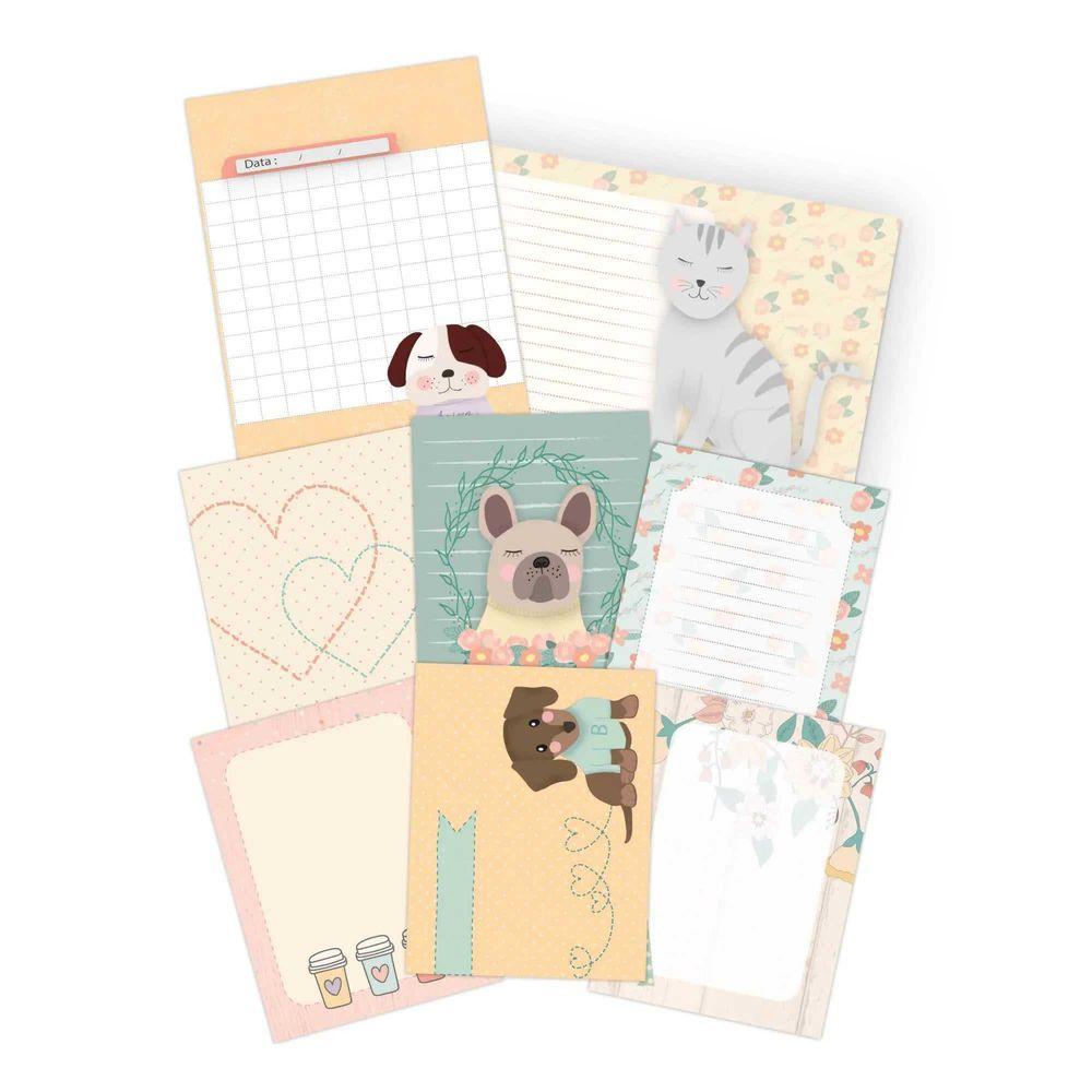 Kit de Cards Amizade é Tudo Melhor Amigo - JuJu Scrapbook